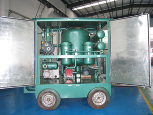 ZJB Series High-Efficient Vacuum Oil Purifier for Transformer Oil