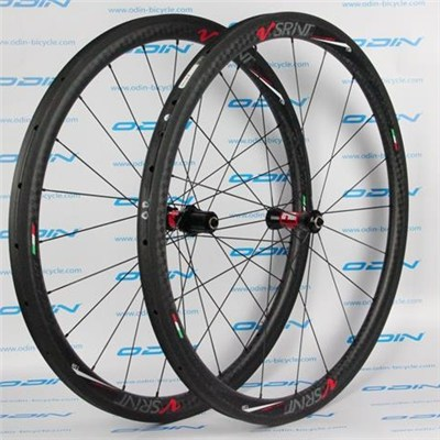 Carbon 38mm Bicycle Wheels Custome Wheels