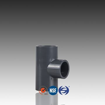 ASTM D 1785 Pipe Fittings SCH80 PVC Equal Tee