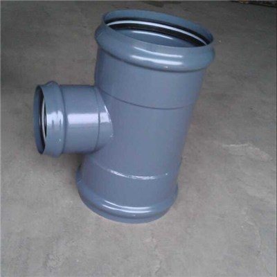 Steel Plastic Fittings Coating With Epoxy For Higher Pressure Request