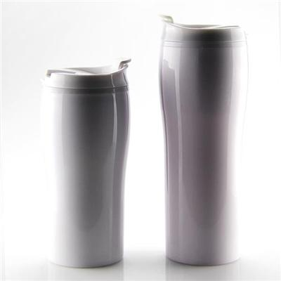420ML Double Wall PP Coffee Mug 2016 New Products Travel Mug Vacuum Insulated Plastic Water Bottle