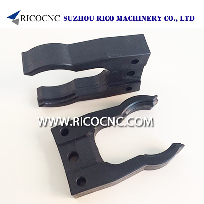 HSK-A|E|F 63 and SK 40 Tool Changer Elastic Gripper Fork Clips for ATC Tool Magazine