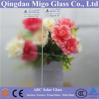 Ultra Clear Anti-Reflection Coated Solar Glass/Low Iron Glass/Solar Tempered Glass with Cheap Price