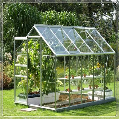 4mm-19mm Low Iron Greenhouse Glass for Agriculture