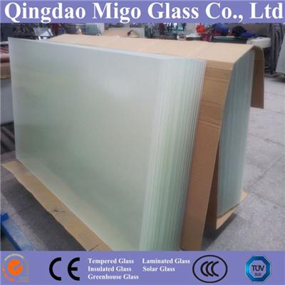 Tempered Ultra Clear Solar Glass