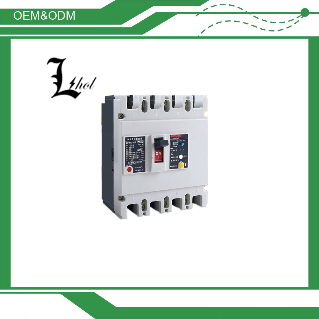 Low Voltage Mccb 250amp Earth Leakage Circuit Breaker CDM1L/Buy 4 Pole Earth Leakage Circuit Breaker