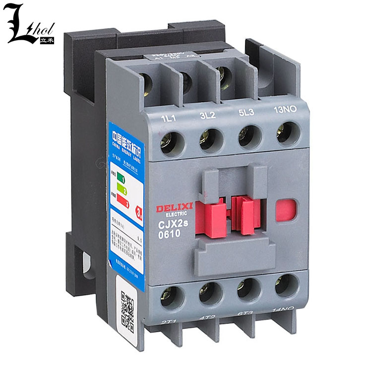 Guangzhou AC Contactor/AC magnetic contactor CJX2s of Delixi Brand