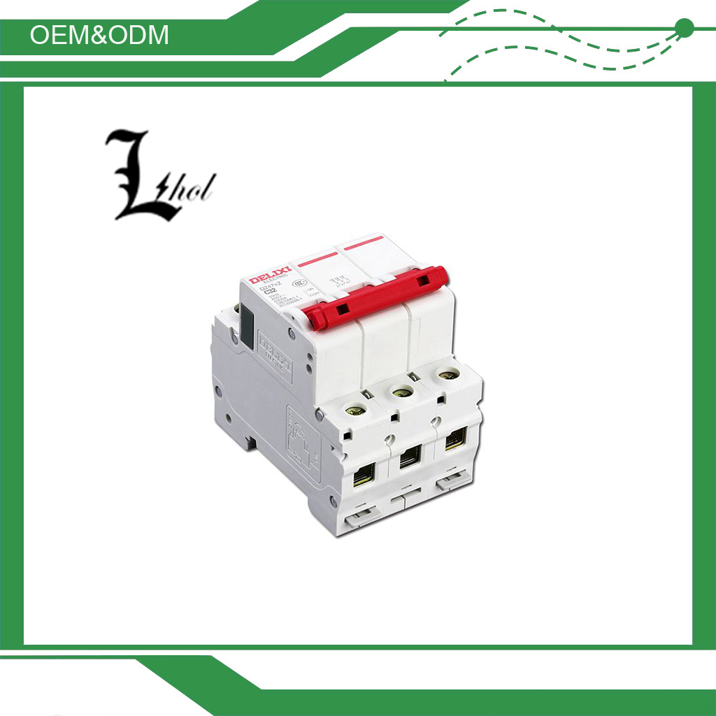 Top Quality Delixi DC Circuit Breaker DZ47sZ made in Guangzhou