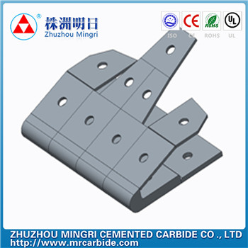 Tungsten Carbide Tips For Railway/Ballast/ Tamping Tools from china manufacturer
