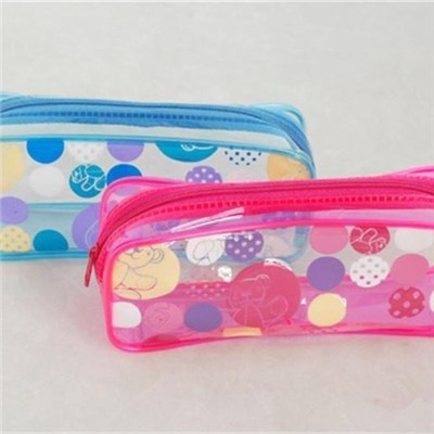 Personalized Wholesale Zipper PVC Pencil Bags