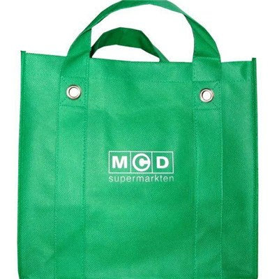 Best Selling Personalized Silk Screen Printing Logo Reusable Promotional Non Woven Tote Shopping Bag