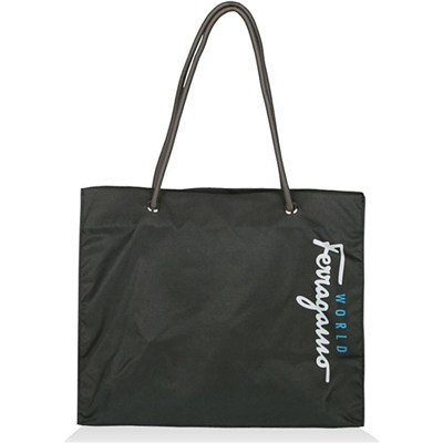 Reusable Nylon Shopping Tote Bag