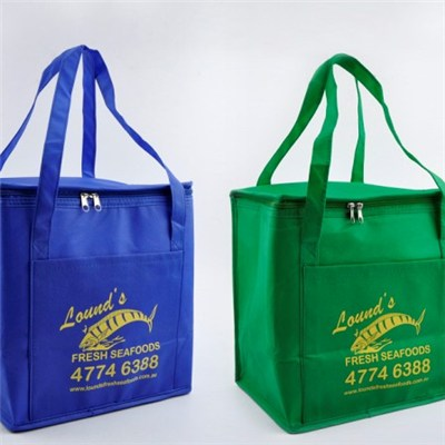 Made In China Customized Non Woven Ice Bag Lunch Bag Non Woven Cooler Bag