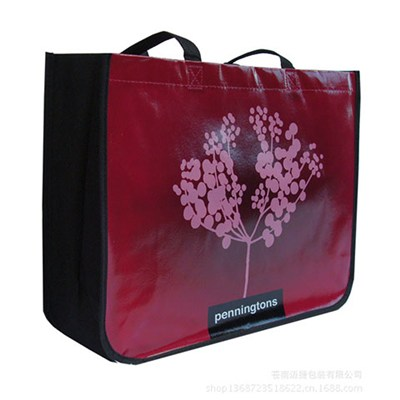 Fashionable Promotional Customized Lamination Non Woven Gift Bag Manufactured by China Factory for Wedding, Jewelry, Christmas