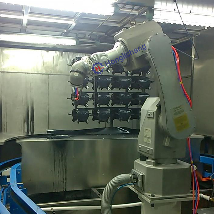Complete Robot Spray Coating Paint Shop for Car Parts