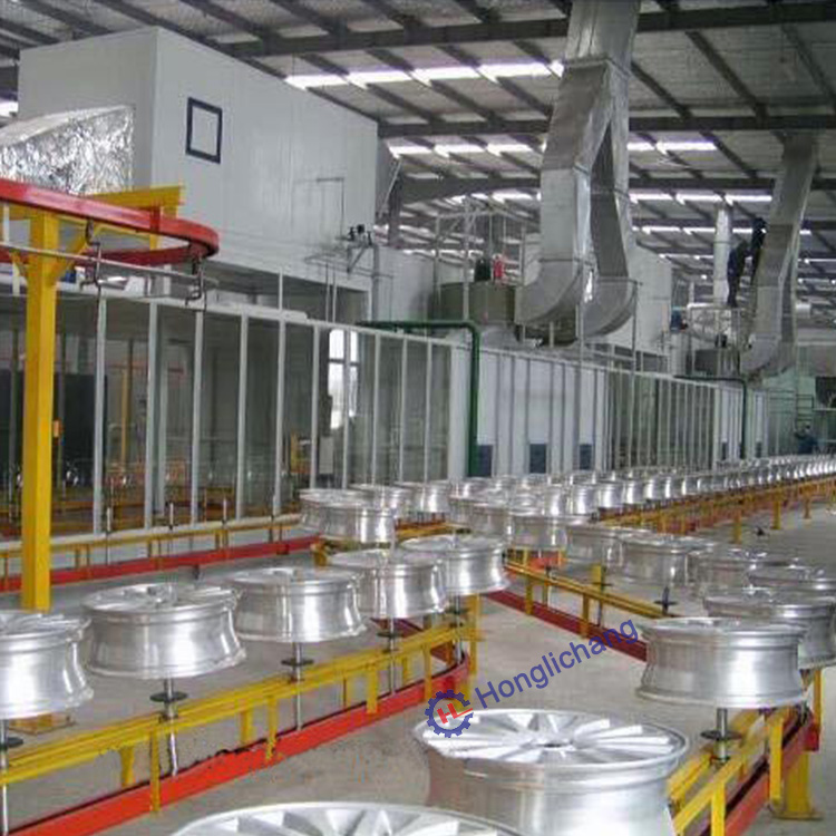 Aluminium Wheel Spray Coating Line