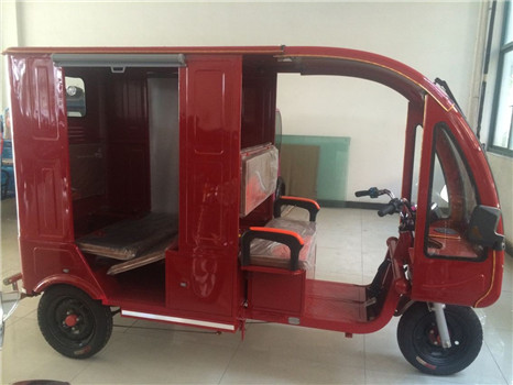 new design battery-operated passenger e rickshaw made in China