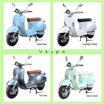 classic vespa 48V to 72V model electric scooter