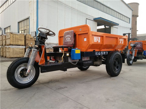 powerful and solid battery tricycle used in mines