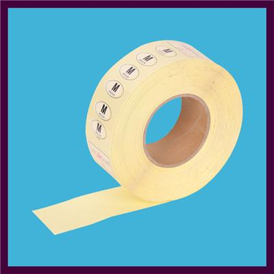 PVC Transparent Self-adhesive Label Roll For Clothing