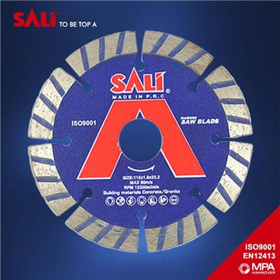 Wet cutting disc circular Segment Turbo Diamond Saw Blade from China supplier