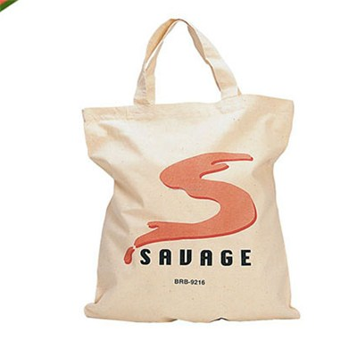 China Factory Wholesale High Quality Advertising Natural White Cotton Canvas Tote Bag For Promotion