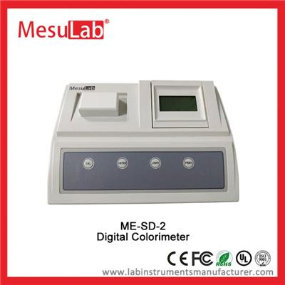 Color Measuring Device Bench Top LCD Display Liquid Solution With RS232