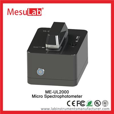 Small Volume UV VIS Spectrophotometer Auto Scanning Wavelength 190 To 850 Nm With PC Software