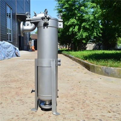Top In Design Stainless Steel Single Bag Filter Housing Water Treatment