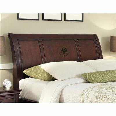 Wood Bed Headboards And Frame In King Queen Twin Size For Hotel Apartment