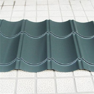 Colored Aluminium Corrugated Roofing Tiles For Tourist Area