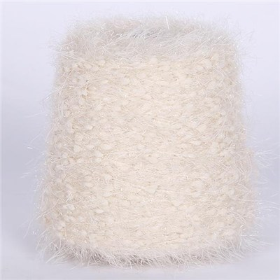 Soft Bean Feather Yarn Colorful Kintting Ball Yarn
