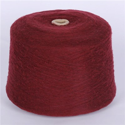 Acrylic Polyester Blended Fancy Napping Yarn For Knitwear