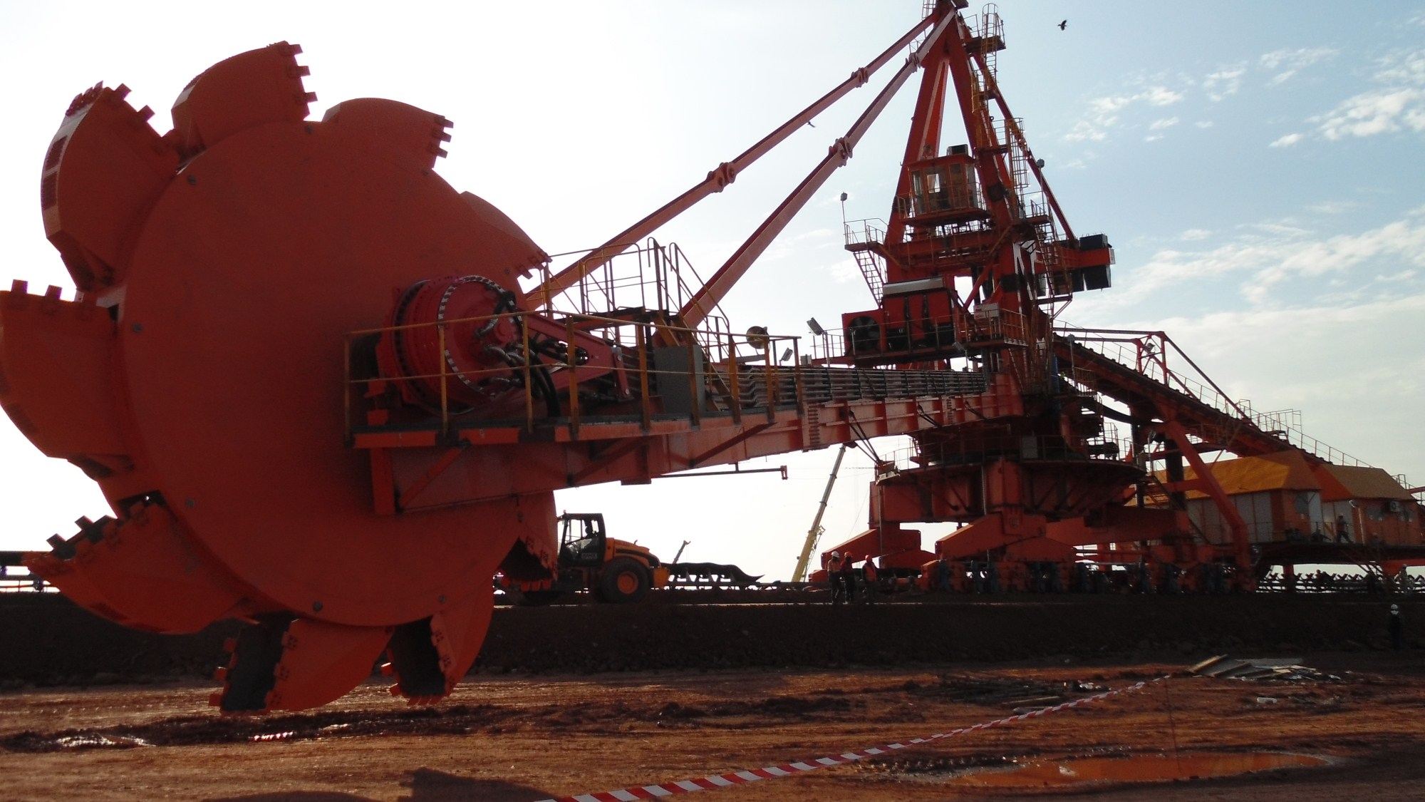 The professional Boom type bucket wheel S&R manufacturer