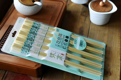 Bamboo Colour Printing Chopsticks