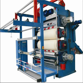 Three/four rollers glazing calender machine for finishing/calendering