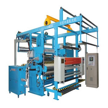 Two rollers Controllable middle height glazing calender machine for calendering/finishing