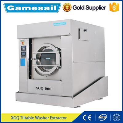 Tilting Lndustrial Washer And Dryer Laundry Washing Machine For Hotel
