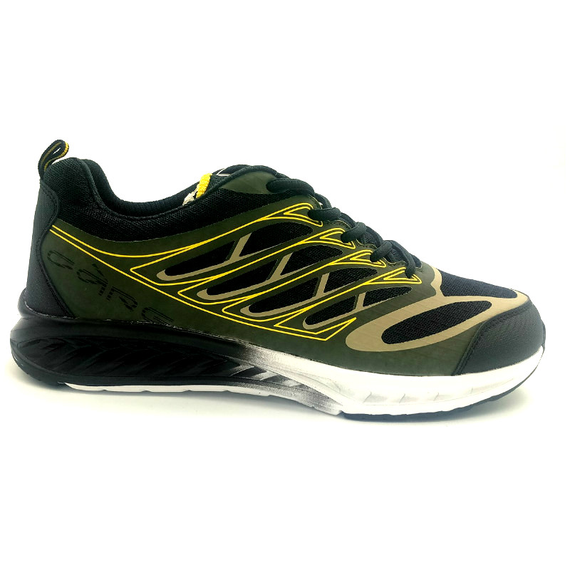Dark green Rubber printed upper with phylon outsole(CAR-71088,brand:Care)