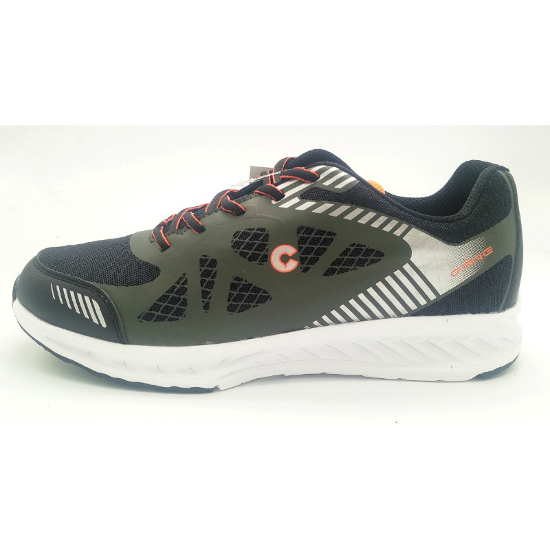 Dark green Rubber printed upper with phylon outsole(CAR-71090,brand:Care)