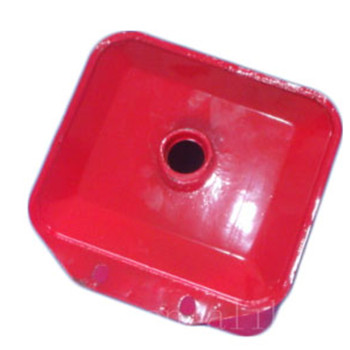 Plastic or iron fuel tank for agricultural tractor