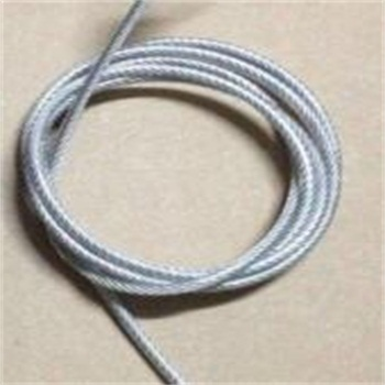 PVC/PP/PE coated wire cables/ rope