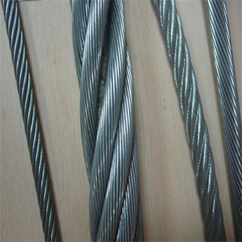 stainless steel or self color or galvanized  Steel Wire Rope Cable/wire ropes