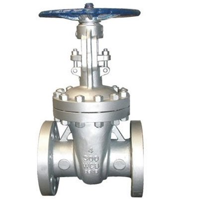 ASME B16.34 Class 300 LB Cast Steel Gate Valve Flanged Ends