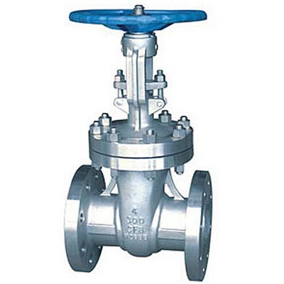 ASME B16.34 Class 150 LB Cast Steel Gate Valve Flanged Ends