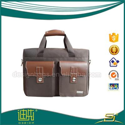 Pu Briefcase Without Gusset