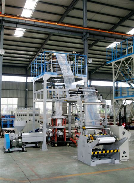 Plastic packaging film production line manufacturers