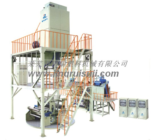 Three layer coextrusion wide film equipment for greenhouse