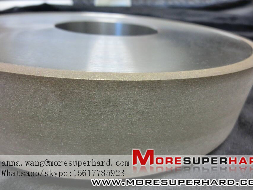 Metal bond grinding wheel processing magnetic materials  anna.wang@moresuperhard.com