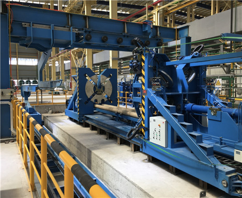 horizontal coil compactors used to compact and bundle coils